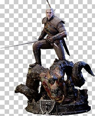 The Witcher 3: Wild Hunt Geralt Of Rivia Action & Toy Figures Statue PNG