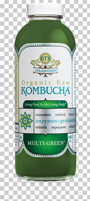 Kombucha Green Tea Masala Chai Raw Foodism Drink PNG
