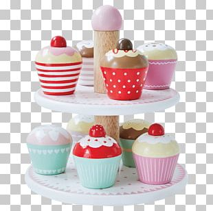Sundae Cupcake Petit Four Muffin Toy PNG