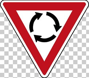 Priority Signs Roundabout Yield Sign Traffic Sign Stop Sign PNG