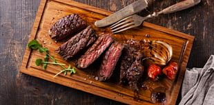 Beefsteak Meat Cooking PNG