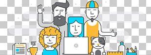 Digital Marketing Social Media Business Management PNG