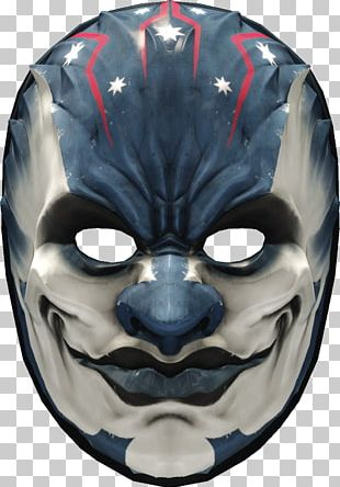 Payday 2 Mask Payday: The Heist Overkill Software Headgear PNG