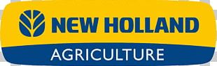 New Holland Agriculture Agricultural Machinery Tractor Logo PNG