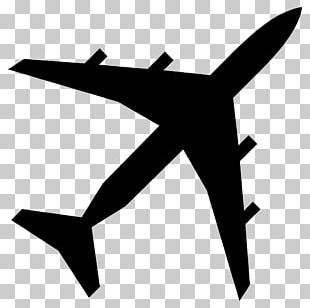 Airplane Silhouette PNG