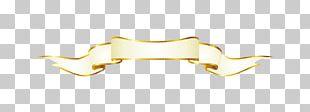Yellow Angle Font PNG