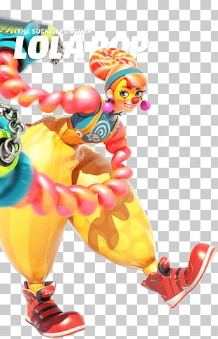 ARMS: Lola Pop Super Smash Bros. For Nintendo Switch Video Game PNG