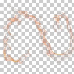 Orange Smoke Effect PNG