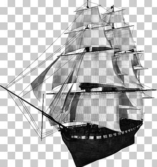 Sail Baltimore Clipper Brigantine Ship Of The Line PNG
