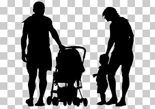 Silhouette Child Parent Father PNG