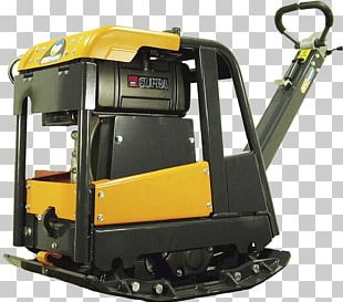 Compactor Machine Soil Compaction Architectural Engineering Concrete PNG