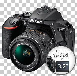 Nikon D5300 Nikon D3400 Canon EF-S 18–55mm Lens Digital SLR Camera PNG