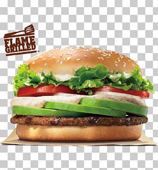 Whopper Hamburger Big King Fast Food Veggie Burger PNG