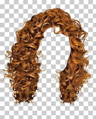 Curly Women Hair PNG