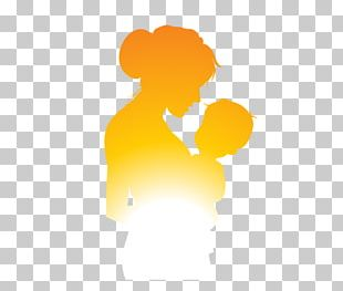 Mother Silhouette Child PNG
