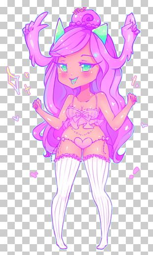 Fairy Pink M Sketch PNG
