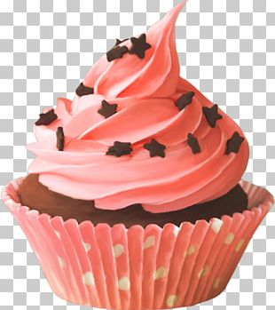 Cupcake Frosting & Icing Chocolate Cake Birthday Cake Red Velvet Cake PNG