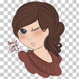 Black Hair Eye Brown Hair Cheek PNG