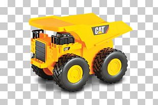 Caterpillar Inc. Dump Truck Toy Vehicle PNG