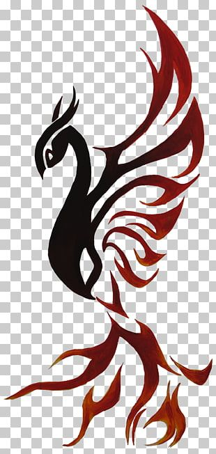Rooster Fenghuang Phoenix Legendary Creature PNG