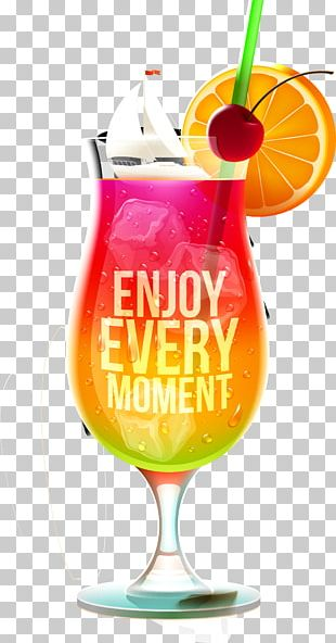 Cocktail Juice Soft Drink Flip PNG
