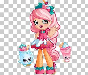 Smoothie Shopkins Doll Moose Toys PNG
