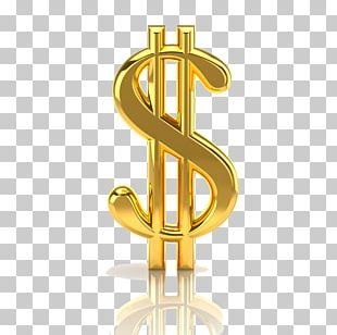 Dollar Sign United States Dollar Gold PNG