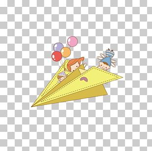 Paper Airplane Flight PNG