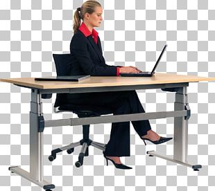 Sit-stand Desk Standing Desk Sitting PNG