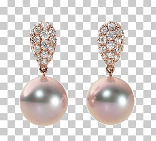 Pearl Earring Jewellery Store Body Piercing PNG