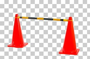 Traffic Cone Orange Safety PNG