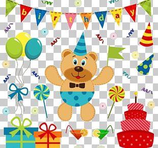 Birthday Cake Illustration PNG