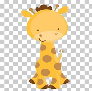Giraffe Wedding Invitation Baby Shower Infant Party PNG