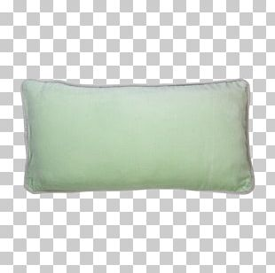 Throw Pillows Cushion Rectangle Turquoise PNG