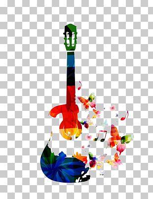 Acoustic Guitar Music Electric Guitar PNG