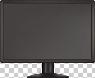 Computer Monitor Flat Panel Display Light-emitting Diode IPS Panel Liquid-crystal Display PNG