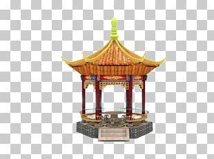 Amusement Park Gazebo Chinese Architecture PNG