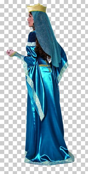 Lady Marian Costume Dress Disguise Woman PNG