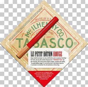 Tabasco Pepper Hot Sauce Louisiana PNG