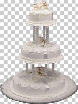 Wedding Cake Birthday Cake Cupcake Icing Torte PNG