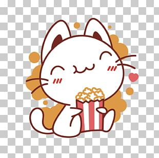 Coca-Cola Popcorn Eating Snack PNG