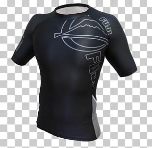 T-shirt Sleeve Rash Guard Brazilian Jiu-jitsu PNG