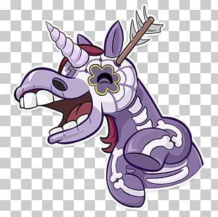 Telegram Sticker Unicorn Horse PNG