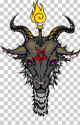 Baphomet Demon Satanism Drawing PNG