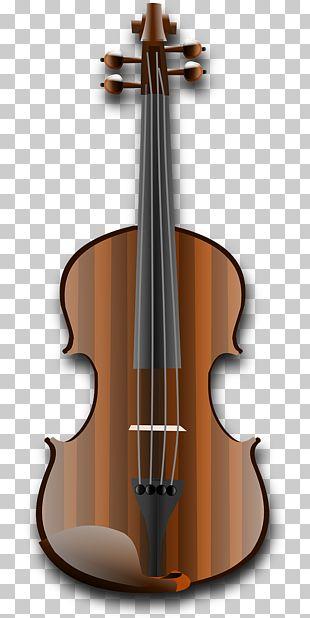 Violin Musical Instrument String Instrument PNG