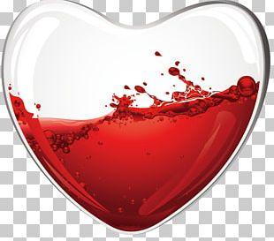 Wine Glass Wine Glass Heart Drink PNG