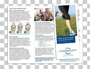 Advertising Brochure Graphic Designer Knee Replacement PNG