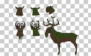 Reindeer Elk Cattle Antler PNG
