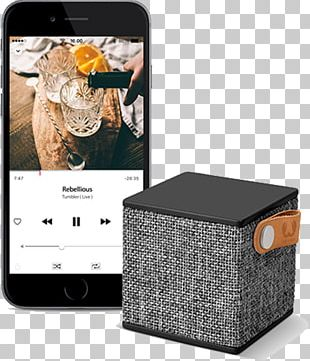Fresh 'n Rebel Rockbox Cube Fresh 'n Rebel Rockbox Brick Loudspeaker Wireless Speaker Laptop PNG