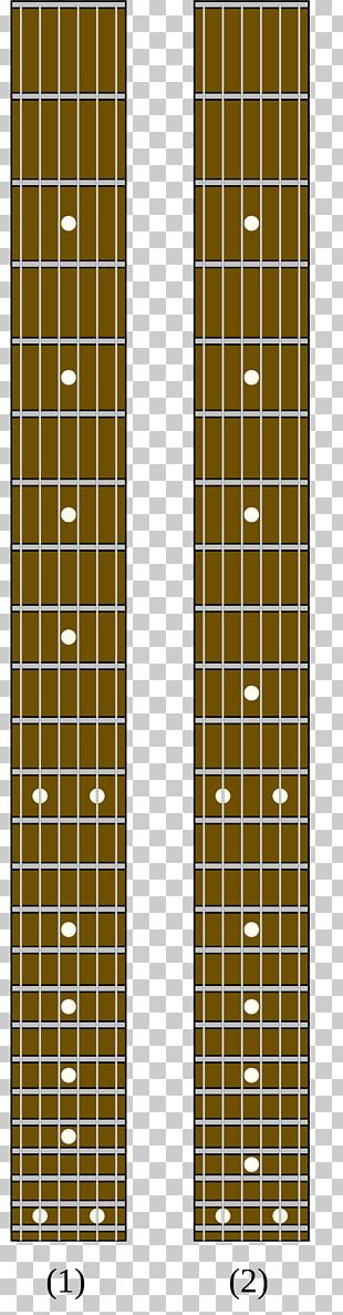 Inlay Acoustic Guitar Fingerboard Fret PNG